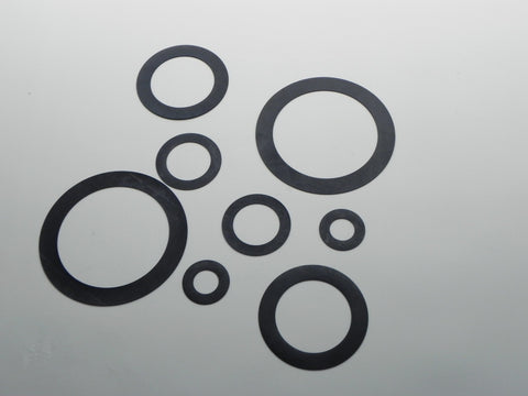 "Ring Type Gasket; Class 125; 1/8"" Thick Nitrile (Buna) Material"