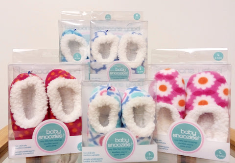 Baby Snoozies! Fleece Slippers