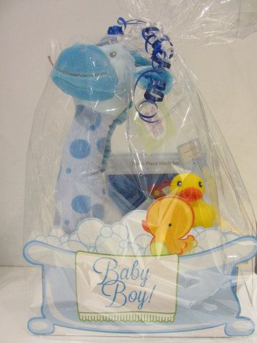 Baby Boy Gift set with Giraffe