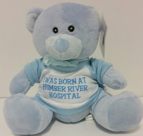 I was Born at Humber River Hospital Bear, Blue