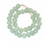 Recycled Glass Beads | Aqua