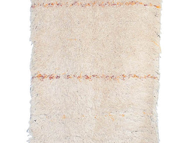 Vintage Moroccan Wool Beni Ourain Rug | 27610