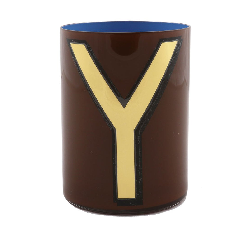 Alphabet Brush Pot | Y