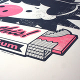 Fun-Boy Chew On This! Screenprint