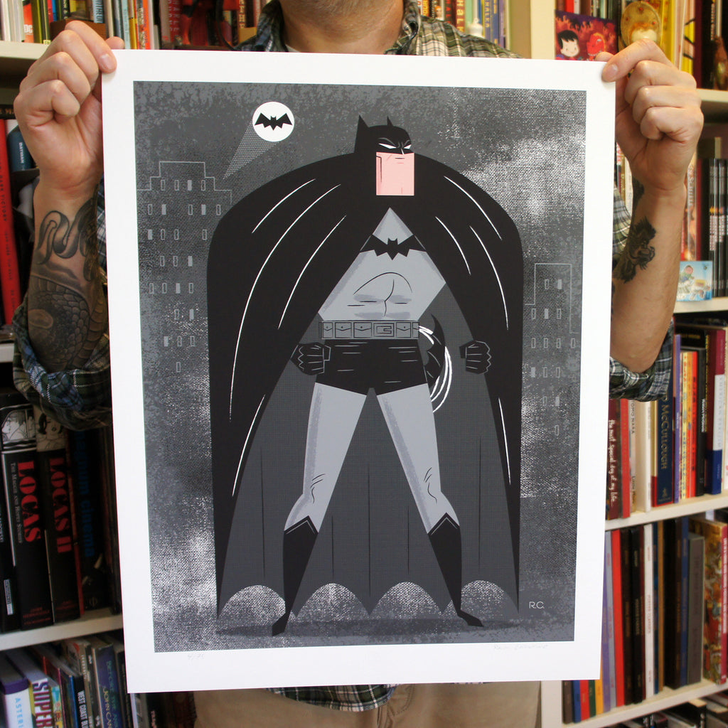 Big Chin Batman Print