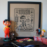 Fun-Boy Fizzie Cola Letterpress Print
