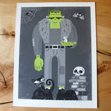 I Am the Frankenstein Monster Print