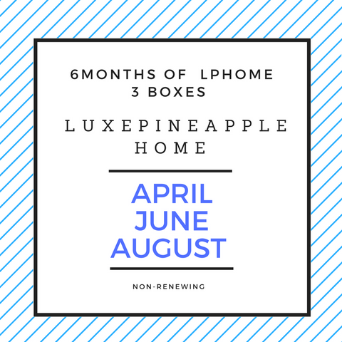 6 months of LPHOME/ 3 boxes Pre-Pay/Non-Renewing