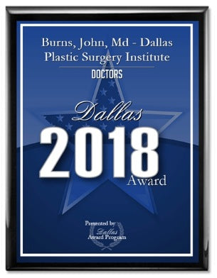 Dr. John Burns Honored with Dallas Top Doctor Award