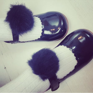 pompom dolly shoes 2 3 4 4.5 5 6 7