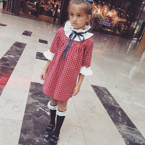 Tartan IN HOUSE Girls Dress 2y 3y 4y 5y 6y 7y 8y 9y 10y 11y