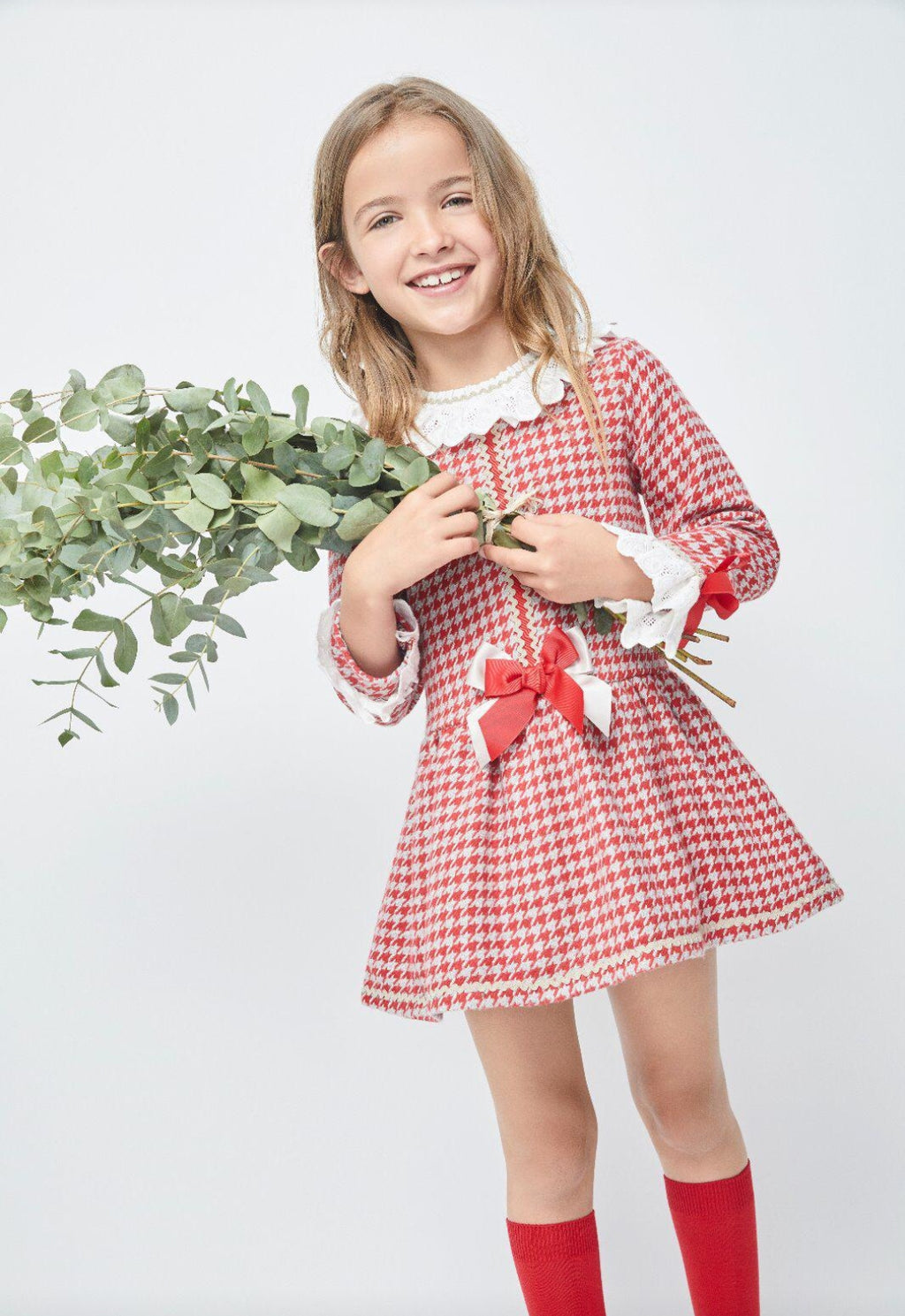 Valantina Tartan Girls Dress  3y 4Y 5y 6y 8y 10y 11Y