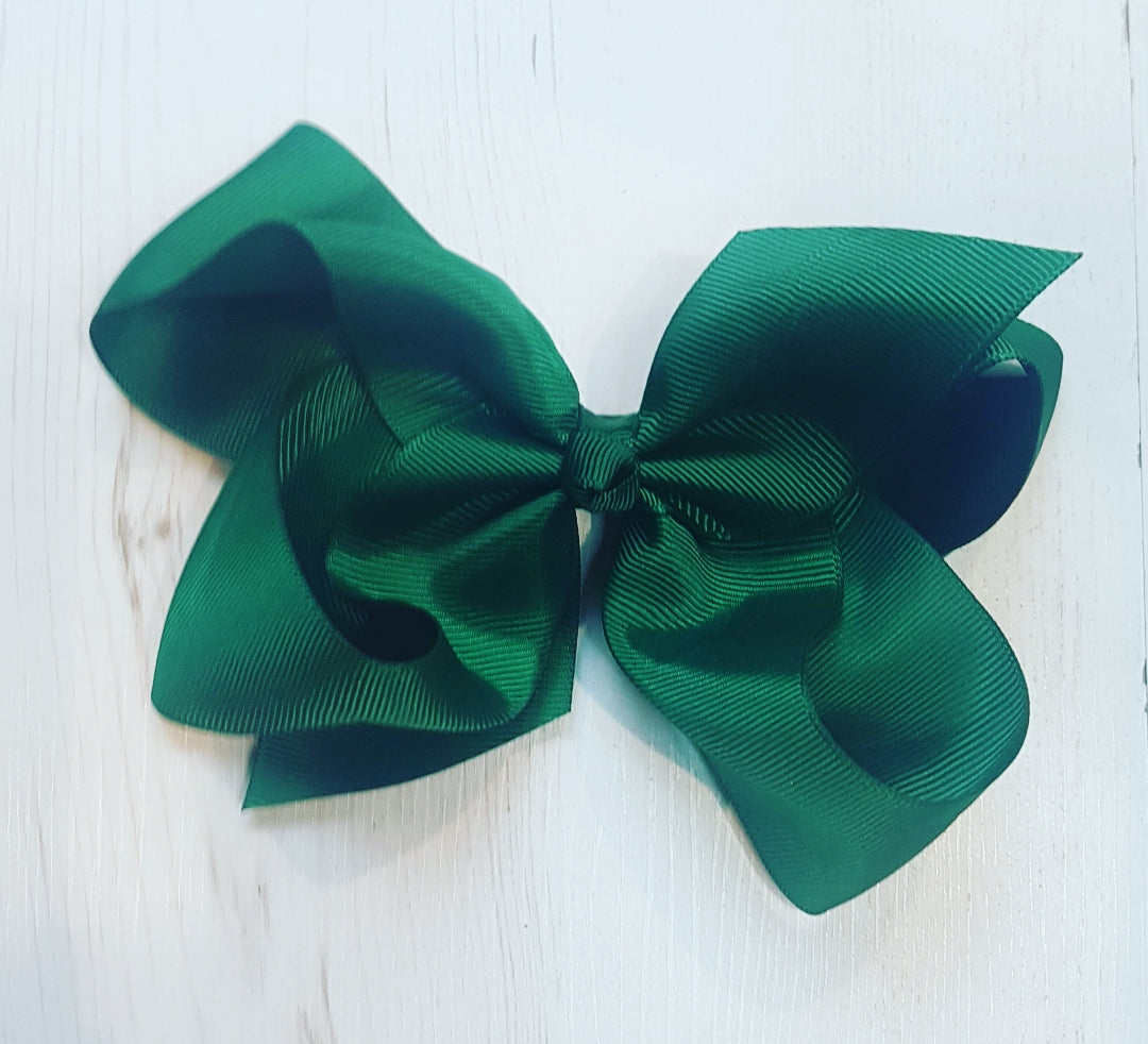 Green 6 inch Bow