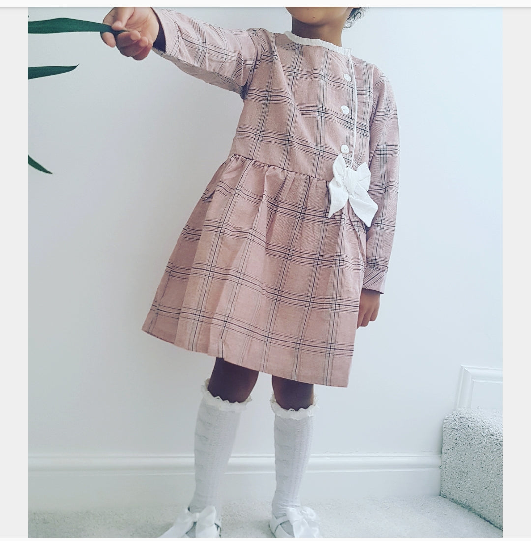 Lala Dress Pink 3y to 11y