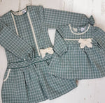 Envy Girls tartan check Dress 2y 3y 4y 5y 6y 7y