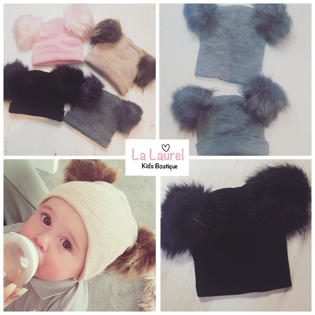 Pom Pom knit hats Baby & Toddler