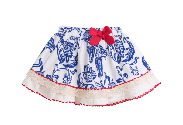 Royal Spanish Skirt