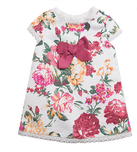 spanish baby girls dress heart  3m 6m 9m 12m 18m 24m