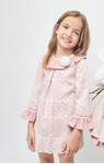 CLARA Girls pink  Winter  Dress 3y 4y 5y 6y 7y 8y 9y 10y 11y