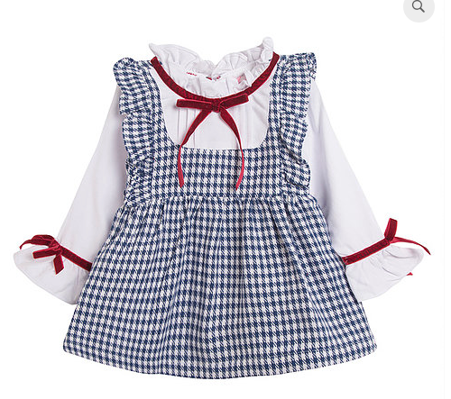 Ora GIRL Winter Tartan Winter Dress 3y 4y 5y 6y 7y 8y 9y 10y 11y