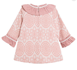 Clara Baby dress Winter Pink 3m 6m 9m 12m 18m 24m