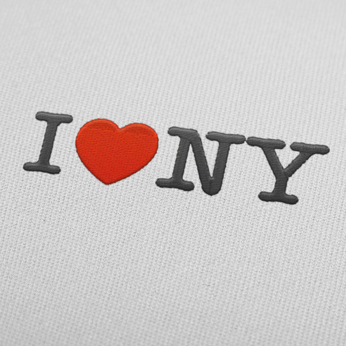 I Love NY - Embroidery design download