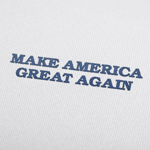 Embroidery design make America Great Again