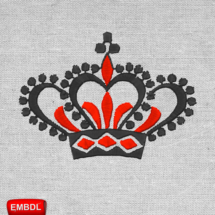 King Crown Royal 4 - Embroidery design download