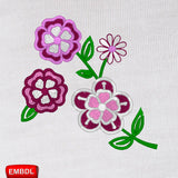 Beautiful Flowers 1 - Embroidery design download
