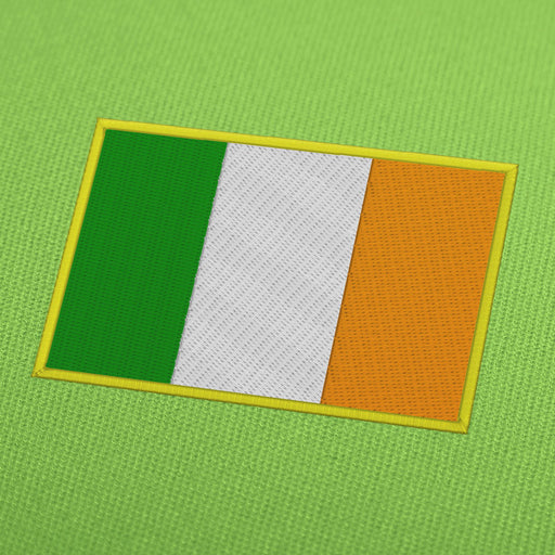 Ireland flag embroidery machine design