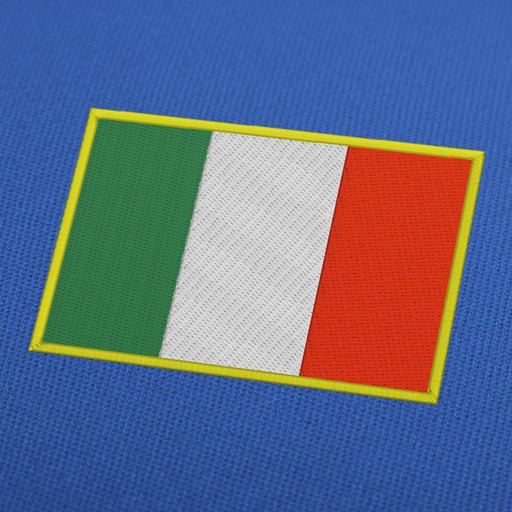 Italy flag embroidery machine design