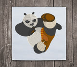 Kung Fu Panda Embroidery Design