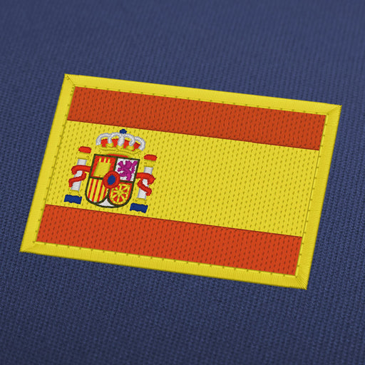 Spain flag embroidery machine design