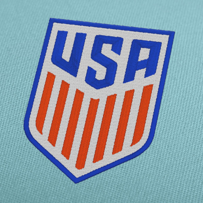 USA Soccer Team Logo Embroidery Design For Instant Download