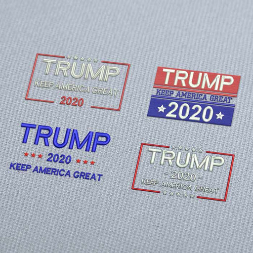 Trump Make America Great Again PACK Embroidery Design Download