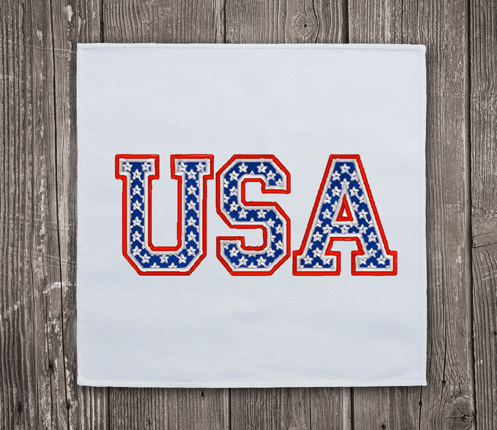 usa letters united states embroidery design With design letters usa