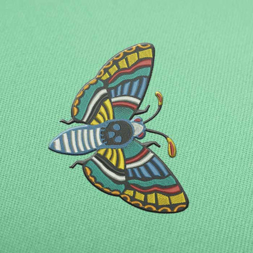 Cute Butterfly Embroidery design for Instant Download