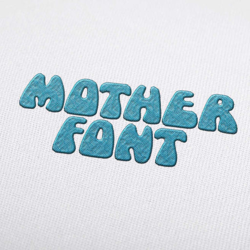 Mother Font - Machine Embroidery Design Fonts Download