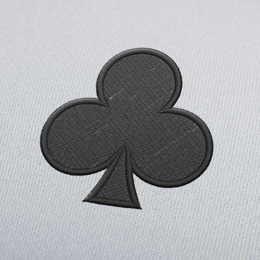 Black Club Embroidery design for Instant Download