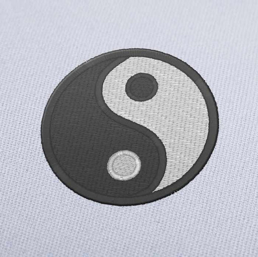 Ying Yang Embroidery design for Instant Download