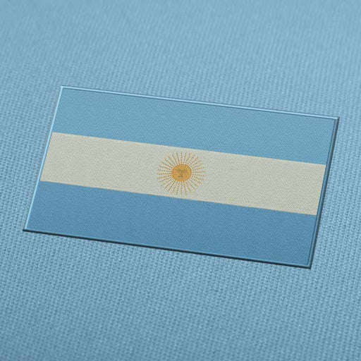 Argentina Flag Embroidery Machine Design For Instant Download