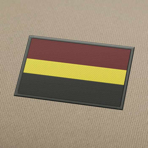 Romania Flag Embroidery Machine Design - Instant Download