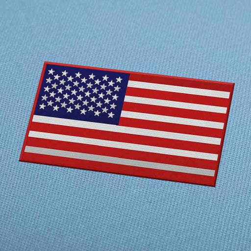 USA United States Flag Embroidery Machine Design - Download