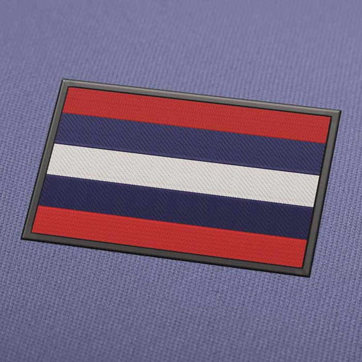 Thailand Flag Embroidery Machine Design - Instant Download