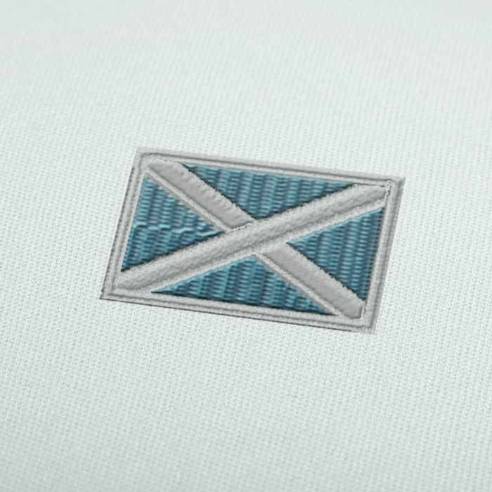 Scotland Flag Embroidery design for Instant Download