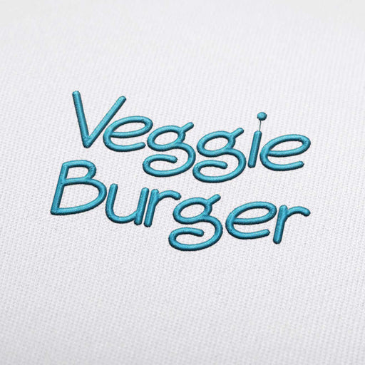 Veggie Burger - Machine Embroidery Design Fonts Download