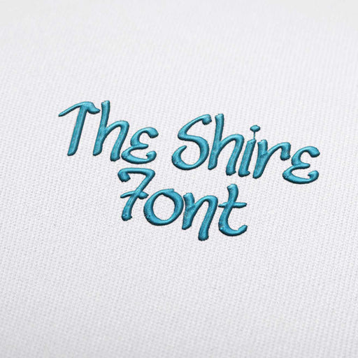 The Shire - Machine Embroidery Design Fonts Download