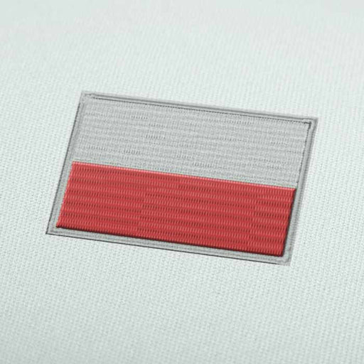 Poland Flag Embroidery design for Instant Download