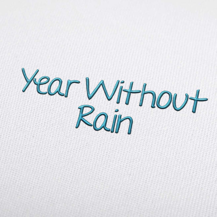 Year Without Rain Embroidery Font Set Download Embroiderydownload