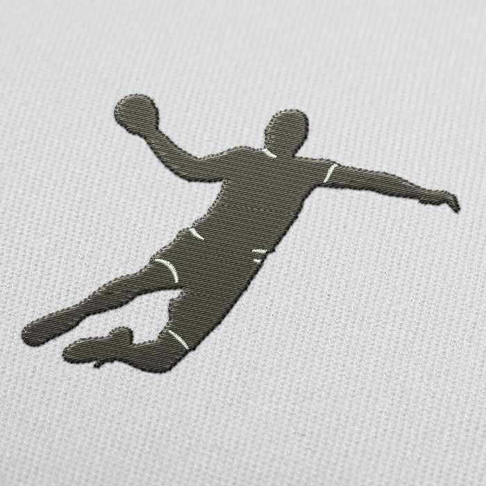 Handball Embroidery Design for Download